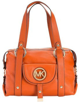 Michael Kors Leather Fulton Large Satchel 35t0gfts3l Shoulder Bag