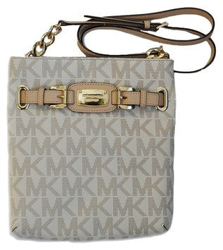 Michael Kors Hamilton Large 35f2ghmc3b Vanilla Cross Body Bag