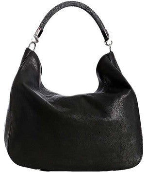 Yves Saint Laurent Roady Leather With Stingray - Hobo Bag