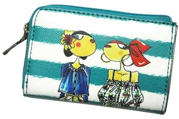 Love Moschino Charming Girls Coin Case - Green
