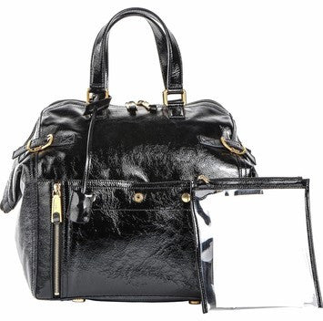 Yves Saint Laurent Large Downtown - Black Tote Bag