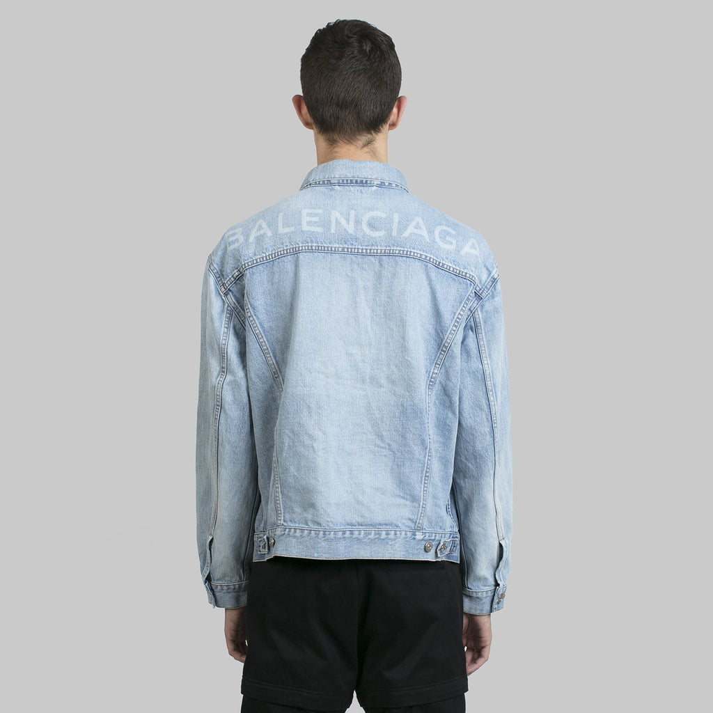 Blue Logo Denim Jacket