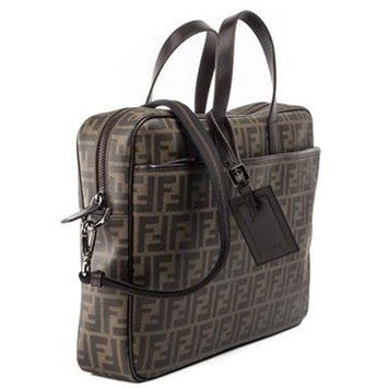 Fendi 7va322 Zucca Business - Brown Travel Bag