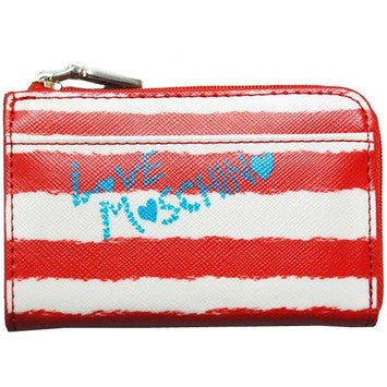 Love Moschino Charming Girls Coin Case - Red