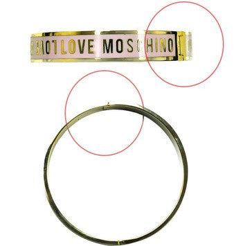 Love Moschino Skinny Bracelet - Yellow