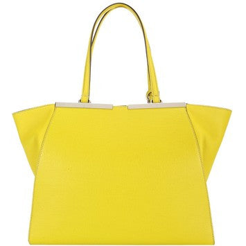 Fendi 3jours Large Shopping Tote 8bh272 Yellow