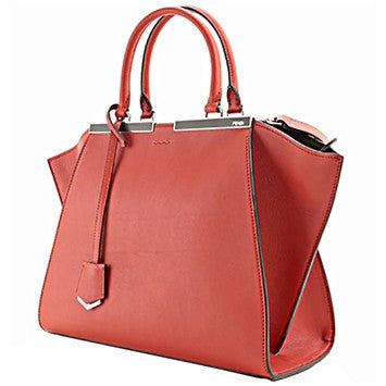 Fendi 3jours Medium Shopping Red 8bh279 Red