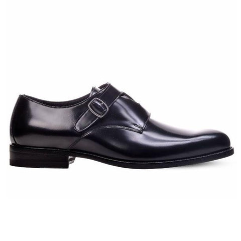 Saint Laurent Dare 25 Crossed Monkstrap Shoes