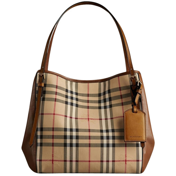 59e5c9380eaf Burberry Canter Tote in Horseferry Check – eDesignerShop