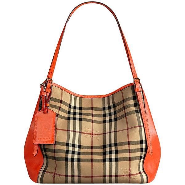 Burberry Canter Tote in Horseferry Check