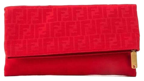 Fendi - Red Clutch