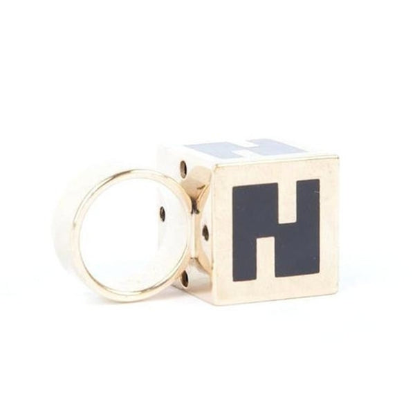 Fendi Cube Ring Black
