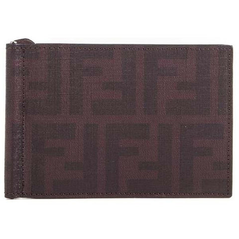 Fendi Men's Wallet - Brown