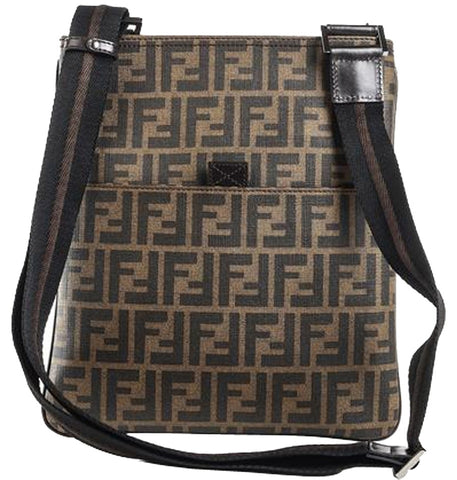 Fendi Messenger 7va207- Brown Messenger Bag