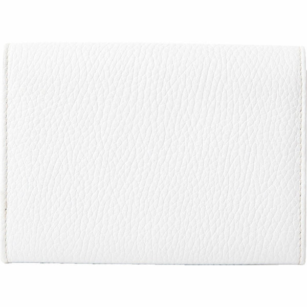 Tods Leather Snap Wallet - White
