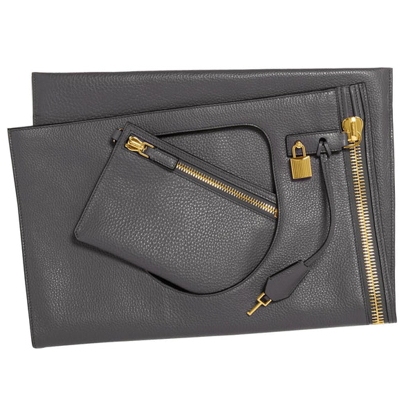 Tom Ford Alix Shoulder Bag - Grey