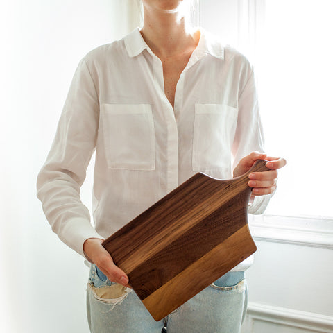American-made Gooseneck Board by Butternut Brooklyn - Carpenter Hill