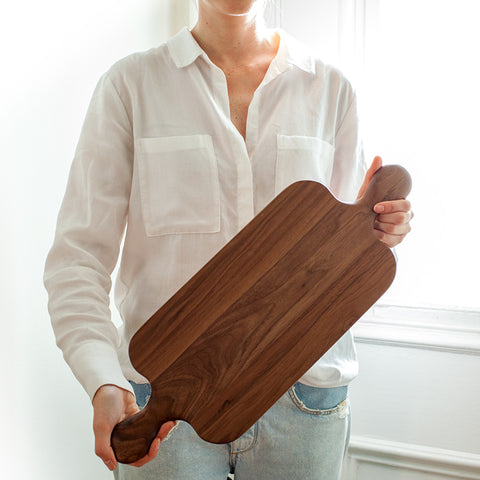 American-made Double Handle Walnut by Butternut Brooklyn - Carpenter Hill