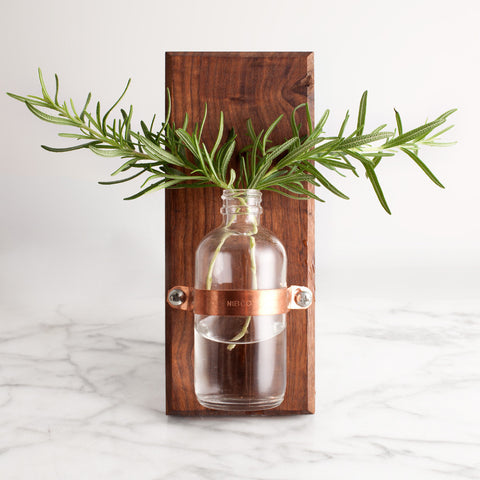 American-made Magnetic Vase by Wood Thumb - Carpenter Hill