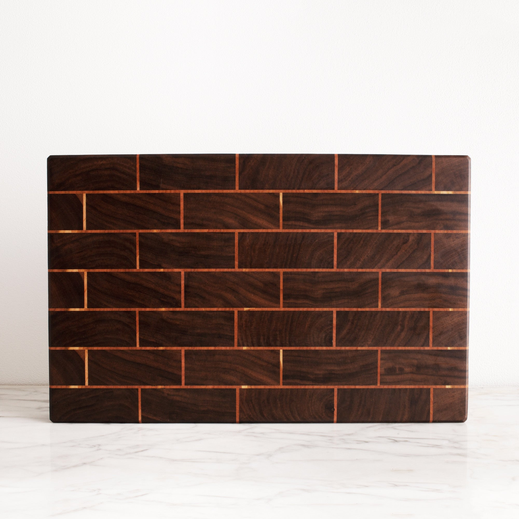 American-made Brickwork Board by Brooklyn Butcher Blocks - Carpenter Hill