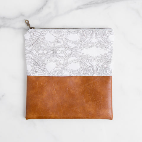 American-made Infinity Zip Pouch by Allie Kushnir - Carpenter Hill