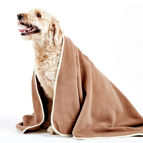 Brown Pet Blanket
