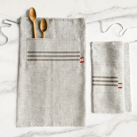 American-made Heirloom Kitchen Apron by Celina Mancurti - Carpenter Hill