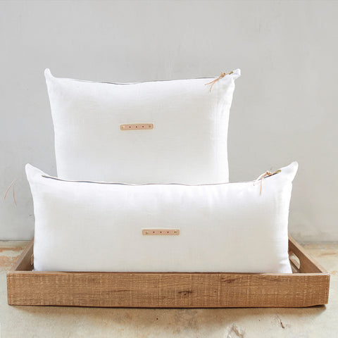 Pure White Pillows (3 styles)