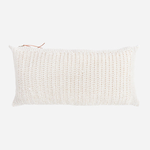 Carmen Crochet Pillow