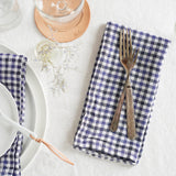 Blue Gingham Napkins