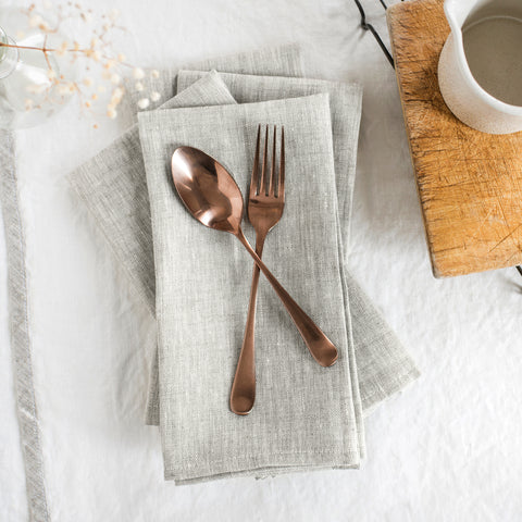 American-made Oatmeal Napkins (Set of 4) by Celina Mancurti - Carpenter Hill