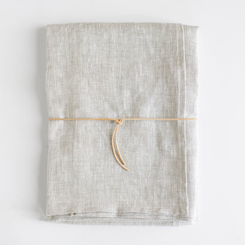 Oatmeal Linen Tablecloth