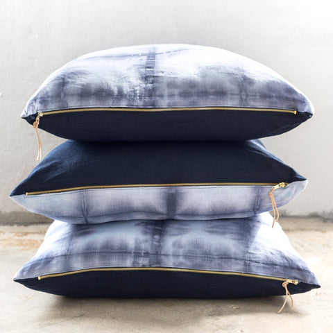 Shibori Floor Pillow