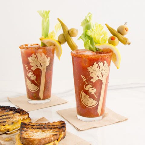 American-made Bloody Mary Glasses by Love & Victory - Carpenter Hill