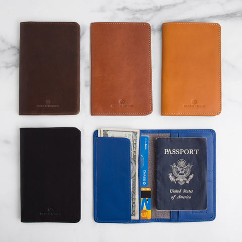 Passport Wallet (5 colors)