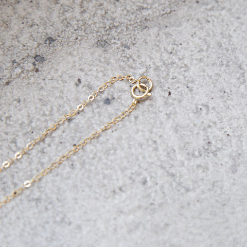 American-made Brass Knot Necklace by Pink Midnight - Carpenter Hill