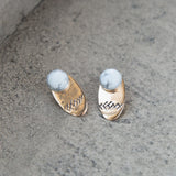 American-made Dia + Pisgah Earrings by Christina Nicole - Carpenter Hill