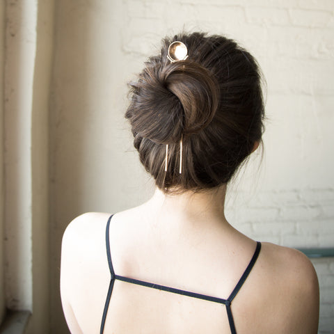 American-made Helios Hairpin by Christina Nicole - Carpenter Hill