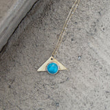 Rise Turquoise Necklace