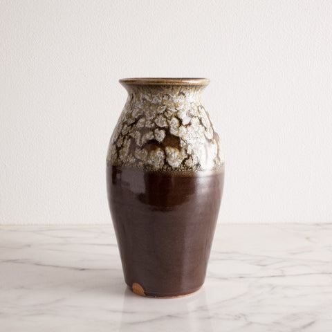 American-made Classic Crackle Vase by Hallyburton Pottery - Carpenter Hill