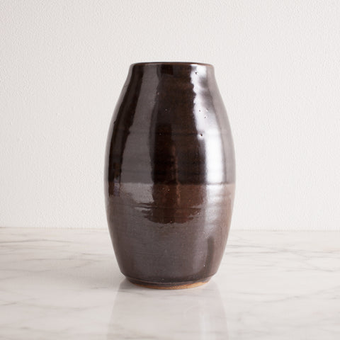 Dark Metallic Vase