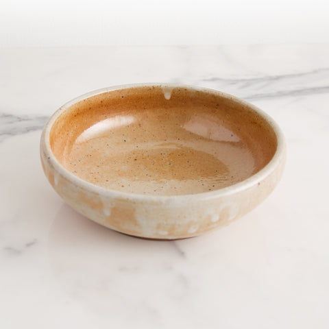 American-made Shino Bowl by Hallyburton Pottery - Carpenter Hill