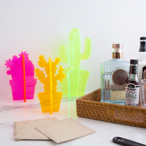 American-made Neon Cacti by Love & Victory - Carpenter Hill