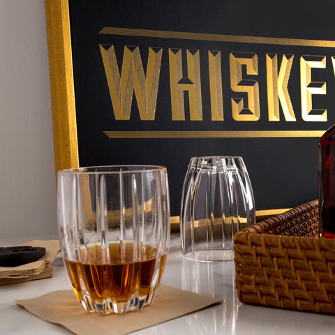 American-made Gold Foil Whiskey Print by Love & Victory - Carpenter Hill