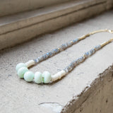 American-made Moonstone Necklace by Pink Midnight - Carpenter Hill