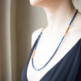 American-made Royal Blue Necklace by Pink Midnight - Carpenter Hill