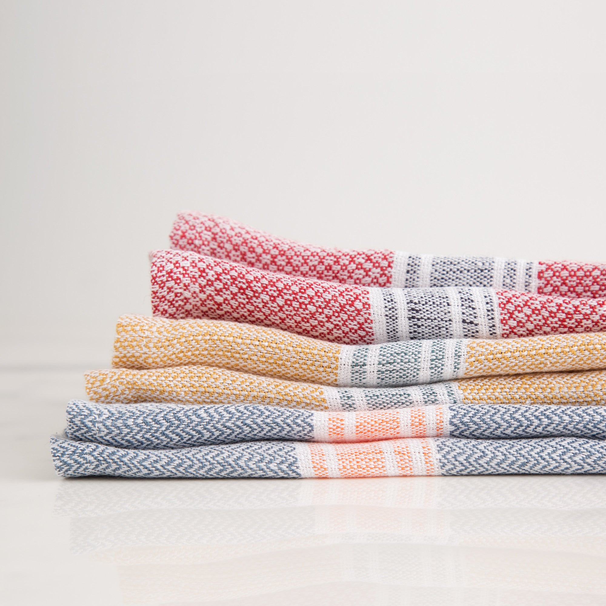 American-made Handwoven Tea Towel II by Sutherland - Carpenter Hill