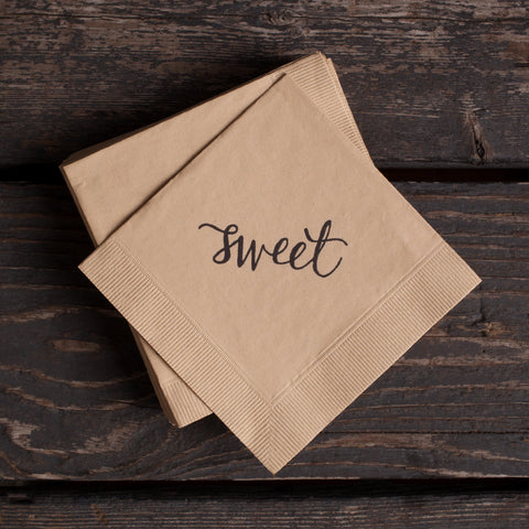 Sweet Cocktail Napkins