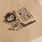 Wild Thing Cocktail Napkins