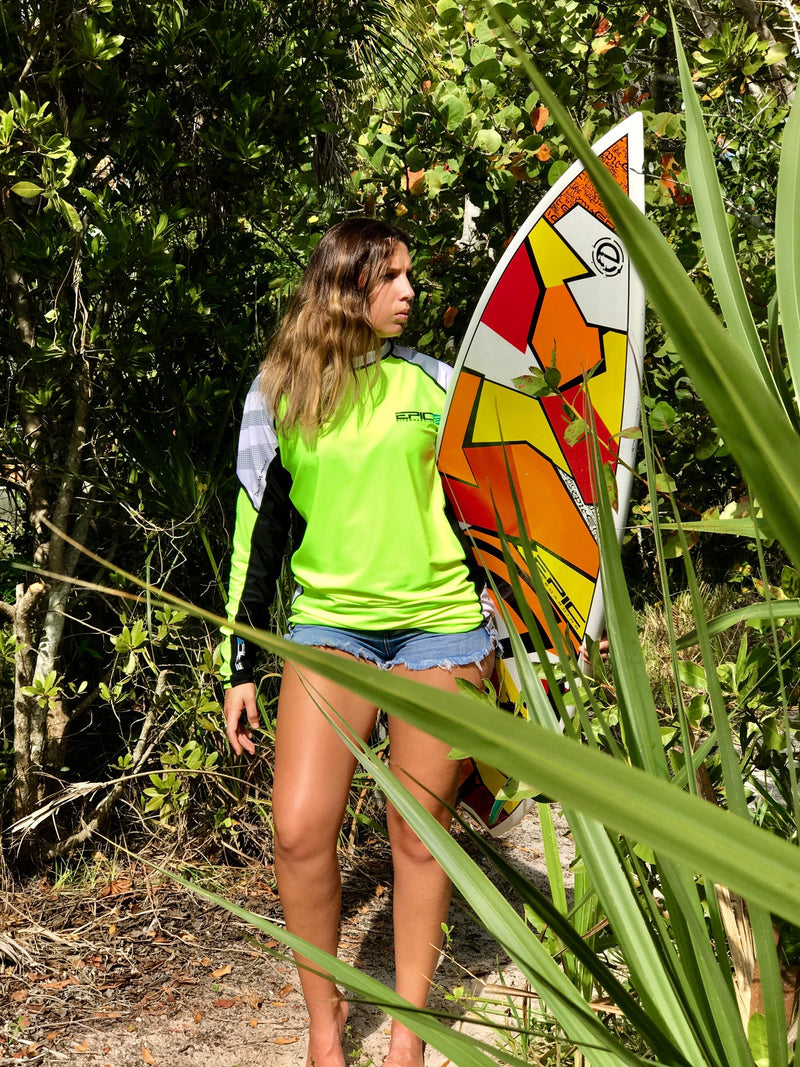 EPIC LONG SLEEVE RASH GUARD SURF